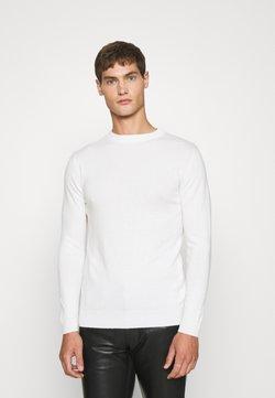 STUDIO ID - CREWNECK - Sweter - white