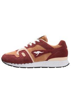 KangaROOS - OMNICOIL - Sneaker low - red/beige