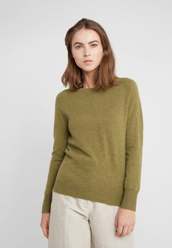 pure cashmere - CLASSIC CREW NECK  - Neule - olive