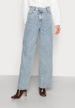 CMEO COLLECTIVE - HEART FULL - Straight leg jeans - blue denim