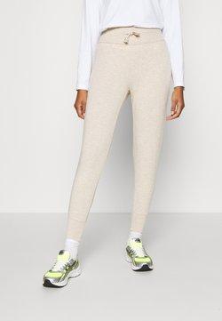 Even&Odd - High Waist Lightweight Slim Jogger - Jogginghose - beige