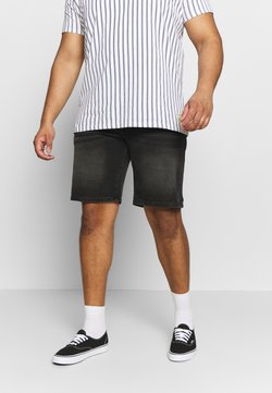 URBN SAINT - CHESTER - Jeansshort - black rock