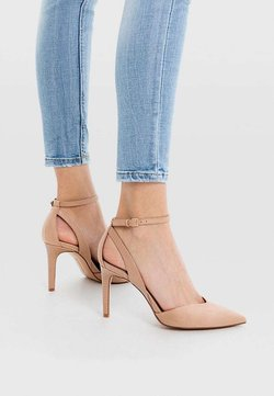 Stradivarius - High Heel Pumps - nude