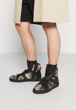 MOSCHINO - High-top trainers - multi-coloured