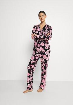 LASCANA - SET - Pyjama - black/rose