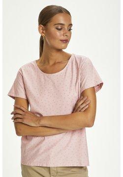 Cream - CRNEVA - T-Shirt print - burnished lilac dot