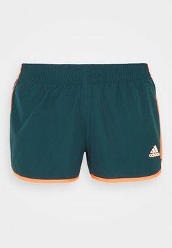 adidas Performance - SHORT - Korte broeken - wild teal/screaming orange