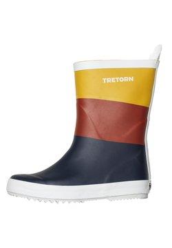 Tretorn - WINGS - Gummistiefel - navy/burnt