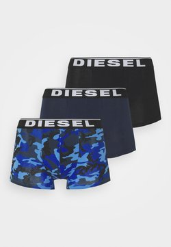 Diesel - DAMIEN 3 PACK - Panties - blue/black