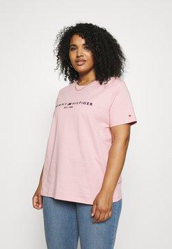 Tommy Hilfiger Curve - REGULAR TEE - T-shirts - glacier pink