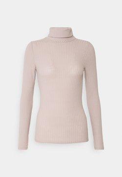 New Look - ROLL NECK - Långärmad tröja - taupe