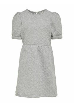 Kids ONLY - Freizeitkleid - light grey melange