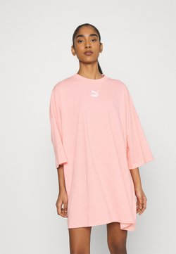 Puma - CLASSICS TEE DRESS - Vestido ligero - apricot blush