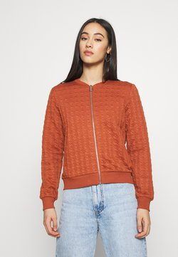 ONLY - ONLMYNTHE JOYCE - Zip-up hoodie - ginger bread