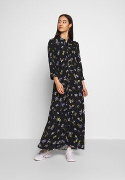 YAS - YASSAVANNA LONG DRESS - Maxikjoler - black