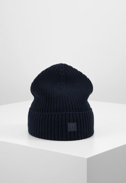 Knowledge Cotton Apparel - LEAF HAT UNISEX - Mütze - dark blue