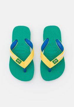 Havaianas - BRASIL MIX  UNISEX - Teensandalen - tropical green