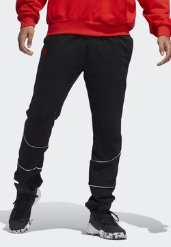 adidas Performance - D.O.N. ISSUE #2 FLEECE JOGGERS - Jogginghose - black
