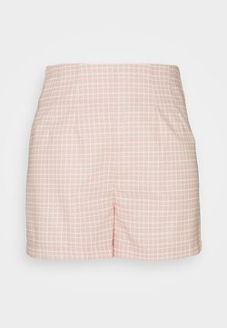 Glamorous - SEERSUCKER - Shorts - peach grid