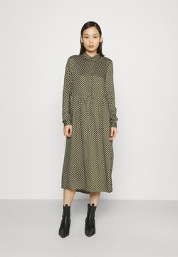 Vero Moda - VMFIE DRESS  - Vestido camisero - ivy green/birch