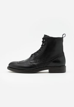 Marc O'Polo - LACE UP BOOT - Veterboots - black