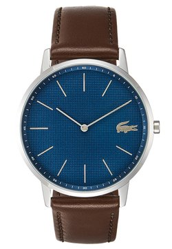 Lacoste - MOON - Montre - silver-coloured/blue/brown