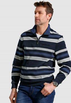 Roger Kent - Poloshirt - marineblau grau