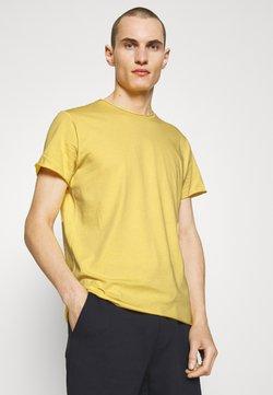 Filippa K - ROLL NECK TEE - T-shirts - bright yellow