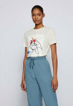 BOSS - T-Shirt print - natural