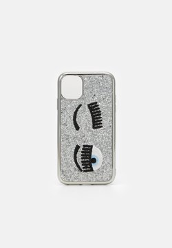 CHIARA FERRAGNI - GLITTER FLIRTING CASE IPHONE 11 - Etui na telefon - silver-coloured