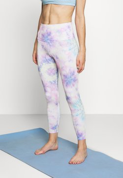 Onzie - HIGH BASIC MIDI - Tights - neon tie dye