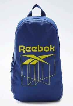 Reebok Classic - FOUNDATION BACKPACK - Reppu - blue