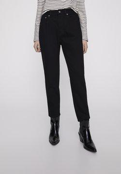 PULL&BEAR - Straight leg jeans - dark grey