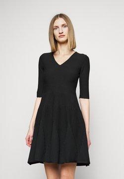 Pinko - RIGORE ABITO MISTO - Vestido de punto - black