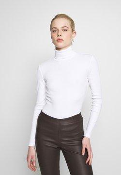 Even&Odd - Langærmede T-shirts - white