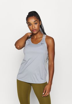 Nike Performance - TANK - Funktionsshirt - particle grey/black