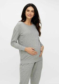 MAMALICIOUS - Sweater - medium grey melange