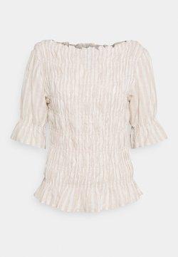 Cream - FILUMIA BLOUSE - Bluse - sesame white melange