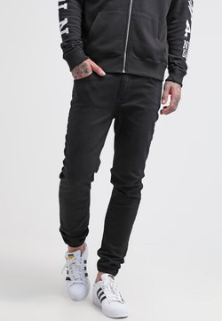 Pier One - Jeans slim fit - black