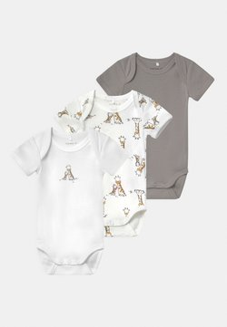 Name it - NBNBODY GIRAFFE 3 PACK UNISEX - Body - alloy