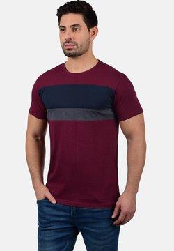 Solid - SASCHA - T-Shirt print - wine red