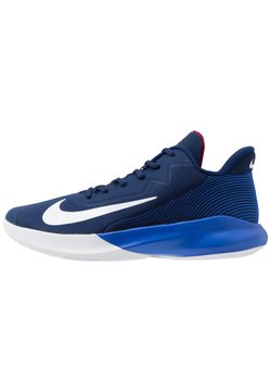Nike Performance - PRECISION 4 - Zapatillas de baloncesto - blue void/white/racer blue/red crush