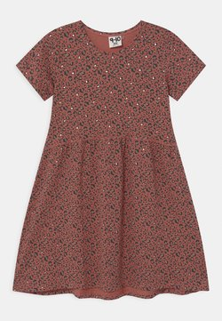 Cotton On - FREYA SHORT SLEEVE  - Jerseykleid - chutney/gold