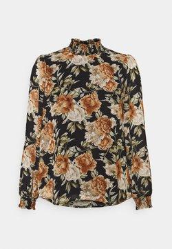 ONLY Petite - ONLMIA PETITE - Bluse - black/big rose