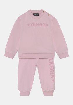 Versace - SET UNISEX - Chándal - rosa baby/bianco