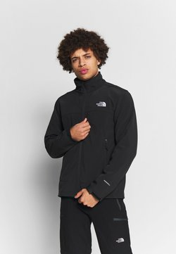 The North Face - MENS APEX BIONIC JACKET - Softshelljacke - black/white