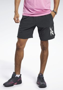 Reebok - TEXTURED EPIC SHORTS - Pantalón corto de deporte - black