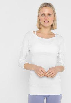 Curare Yogawear - Langarmshirt - white