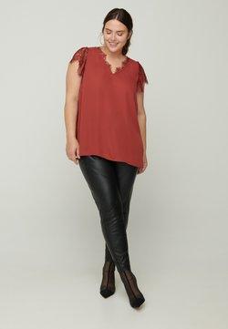 Zizzi - Bluse - red