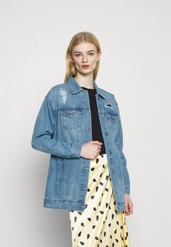 Vero Moda - VMOLIVIA JACKET - Chaqueta vaquera - medium blue denim
